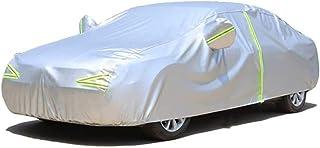 Car Covers Kompatibel mit autoabdeckung wasserdicht Ford Ranger, for Autos Allwetterwasserdicht Seidenstoff Dupont Material (Color : Silver, Size : 5355×1860×1848MM)