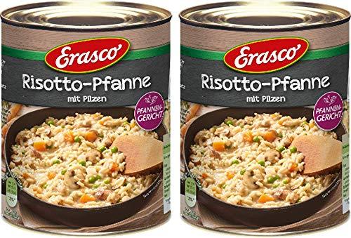 Erasco Risotto-Pfanne mit Pilzen 2er Pack (2x800g) …