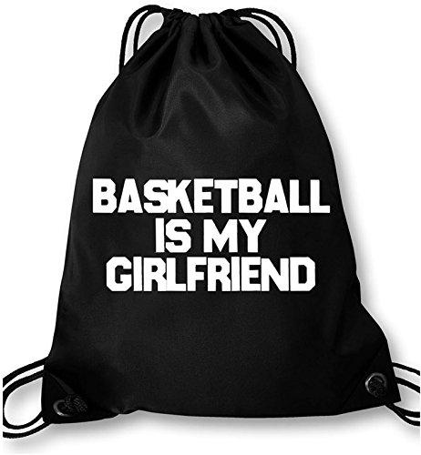 EZYshirt® Basketball is my girlfriend Turnbeutel