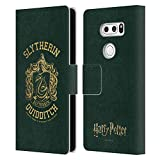 Head Case Designs Officiel Harry Potter Slytherin Quidditch Deathly Hallows X Coque en Cuir à...