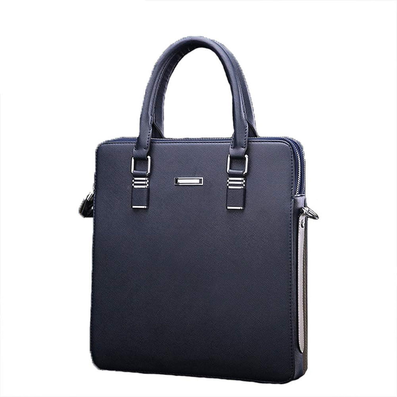 LBYMYB Neue Business-Laptop-Tasche Herren Herren Herren Messenger Bag Herren Aktentasche, 29 X 32 X 6 cm Aktentasche für Unternehmen (Farbe   Blau) B07M8T7MYV 0d8d84