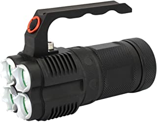 Rechargeable flashlight cree xm-l2 or cree xm-l t6 Outdoor camping Self Defense Hunting Search and Rescue Waterproof Portable searchlight (L2)
