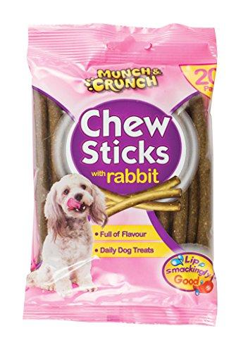 Munch & Crunch Bâtons de lapin 20 ensemble
