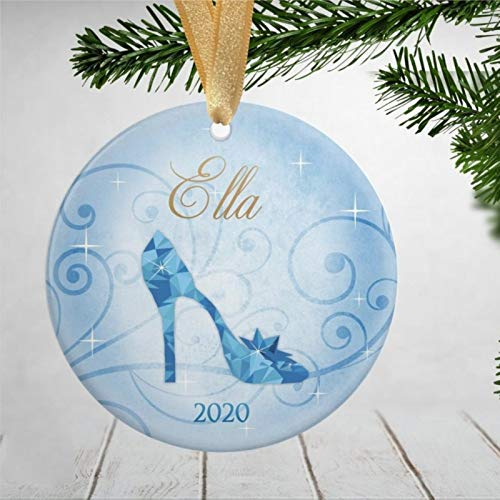 BYRON HOYLE Cinderella Christmas Ornaments Cinderella Ornaments Cinderella Cinderella Present Cinderella Present for Girls 2020 Pandemic Xmas Decor Wedding Ornament Holiday Present