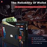 Zoom IMG-1 portafoglio uomo slim blocco rfid