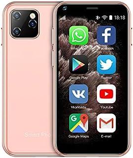 Soyes. mini 3G mobiltelefon, Soyes XS11 liten smartphone, 2,5 tum Android 6,0, 1 GB RAM, 8 GB ROM, Quad Core, Dual SIM, 1 ...