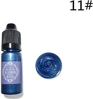 24 pigmentos perlados de colores pigmentos líquidos con purpurina, pigmentos de resina epoxi, tintes