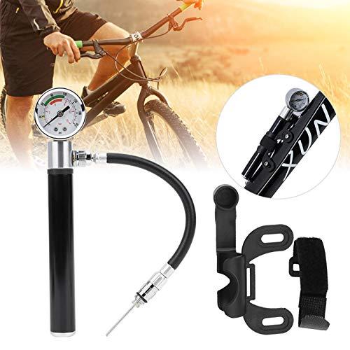 Meiyya Bomba de neumático Inflable de Bicicleta de Alta presión, Bomba de Bicicleta, para Bicicletas eléctricas, Bicicletas de fútbol, Baloncesto