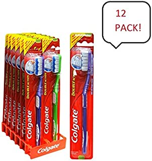 Colgate Toothbrush Double Action (12 Pieces) Medium