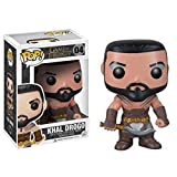 Gogowin Pop Television : Game of Thrones - Khal Drogo 3.75inch Vinyl Gift for Fantasy Fans Chibi Fig...