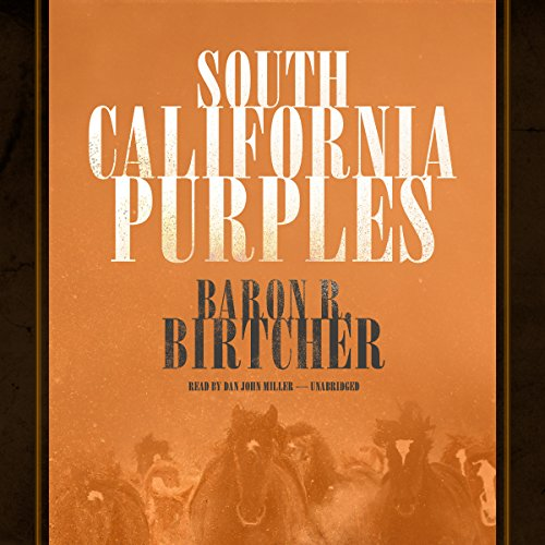 South California Purples audiobook cover art