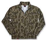 Mossy Oak Men's Standard Vintage Quarter Zip, Camo Hunting Jacket, Original Bottomland, 3X-Large