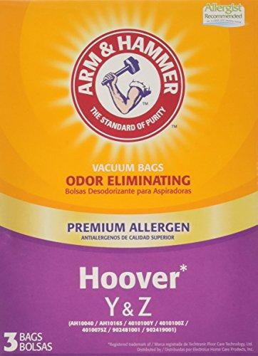 Arm & Hammer 67978GQ Hoover Type Y&Z Premium Allergen Vacuum Bag