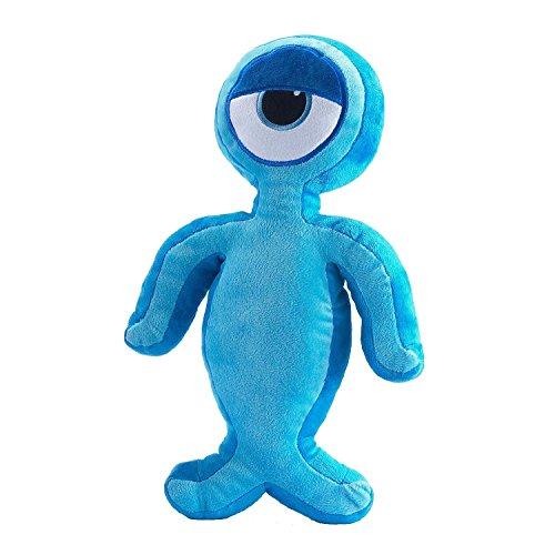 Izziwotnot Character coucher Buddie Coussin pour enfant Blink, bleu