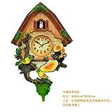 ZloveM Reloj De Pared Grande Silencioso Reloj Decoración para Hogar Cocina Salon...