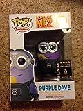 Funko Despicable Me 2 POP! 2014 SDCC Purple Dave Minion
