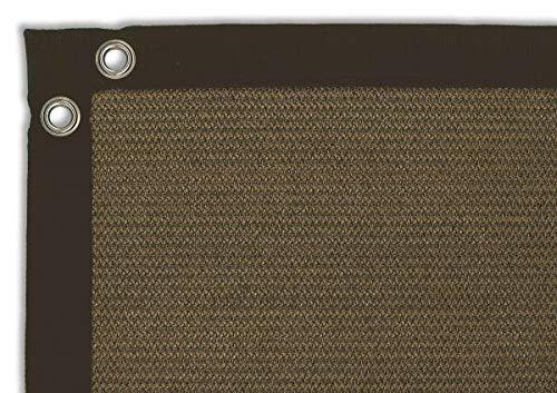 Balkondoek Comfort Shadow Comfort 0.90m x 5.00m Japanese Brown