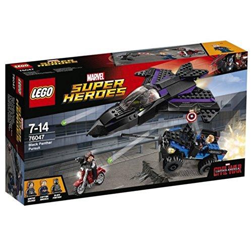 LEGO Super Heroes L'Inseguimento di Pantera Nera, 76047