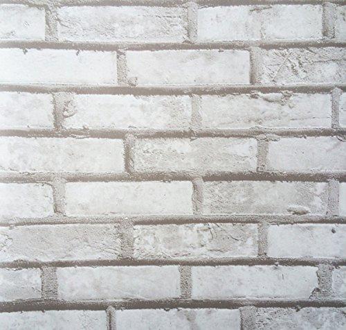 Klebefolie - Möbelfolie Design Naturstein grau - Mauer - 45 cm x 200 cm Selbstklebende Folie mit Dekor - Selbstklebefolie Dekorfolie