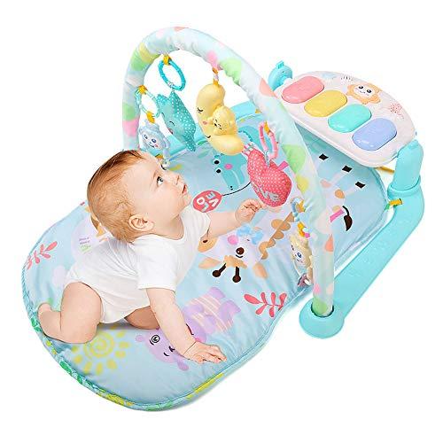 Sufei Gimnasio Piano Pataditas Bebe, Centro De Actividades con Música Y Sonidos Juguetes para Bebés Y Niños Pequeños