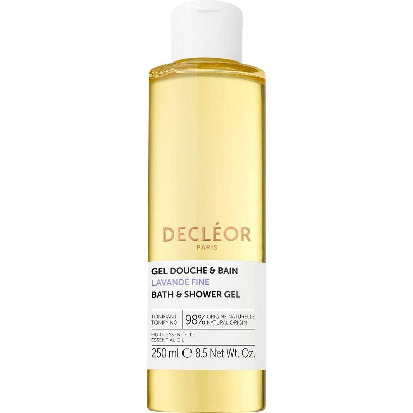 しばしば依存する場合[Decl?or ] デクレオールラバンデ細かいバス&シャワージェル250ミリリットル - Decleor Lavande Fine Bath & Shower Gel 250ml [並行輸入品]
