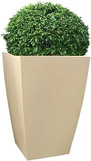 Foliage Society TK 36 Inches Beige Planter Polymer (White)