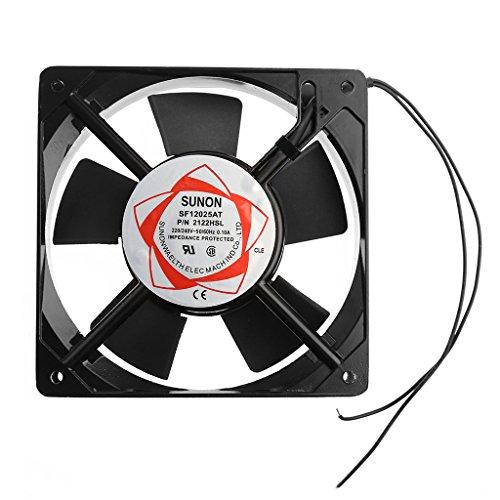 vivitoch SF12025AT 2122HSL 12025 120mm Rodamiento de manguito 220-240V AC Ventilador de...