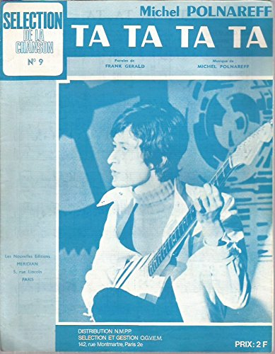 Partition musique TA TA TA TA par Michel Polnareff / Frank Gérald