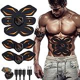 MATEHOM EMS Muscle Stimulator, ABS Trainer Ab Toner Belt Abdominal Exerciser Abs Stimulator