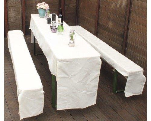 Générique Gartenmobel-Einkauf Kit pour de Banquet, Ca, 25 de 70 x 220 cm, Beige Clair, Beo de Garden