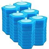 Escobillas de Baño, Sistema desechable de limpieza de inodoro Desechable inodoro desechable RESPONSABLE RECAMBIO FRESCO FRESCO RESPONSABILIDAD DE LOSTBILLA -48 RECAMENTES Escobilla WC ( Color : Blue )