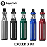 電子タバコJoyetech Exceed X Vape スターターキット + 1000mahバッテリーmod + 1.8ml Exceed Xアトマイザー + EXコイル (シルバー Silver)