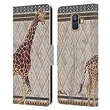 Head Case Designs sous Licence Officielle Paul Brent Girafe Tribale Animaux Coque en Cuir à...