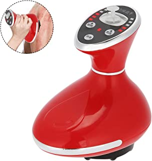 Scraping and Cupping Machine, Electric Negative Pressure and Hot compress Scraping Massager Device for Body Detoxification Shaping Tool