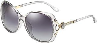 BVAGSS Women Polarized Sunglasses UV Protection Ladies Eyewear Diamond Decoration WS071