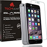 TECHGEAR GLASS Edition for iPhone 6s Plus, iPhone 6 Plus - Genuine Tempered Glass Screen Protector Guard Cover Compatible with Apple iPhone 6s Plus, iPhone 6 Plus 5.5' (3D Touch Compatible)