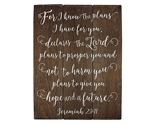 Jeremiah 29 11 Wall Art For I Know The P Buy Online In Burundi At Desertcart