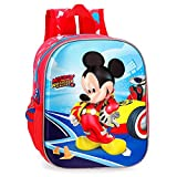 Disney Lets Roll Mickey Zainetto per bambini 25 centimeters 5.25 Multicolore (Multicolor)