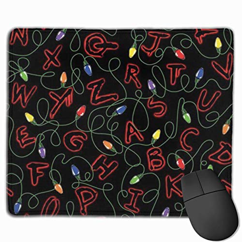 Stranger Mouse Pad Customized, Premium Rectangle Mouse Pad, Non-Slip Rubber Gaming Mouse Pad for Laptop, Computer & PC, 11.8 X 9.8 Inch.