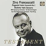 Zino Francescatti plays Brahms & Paganini Violin Concertos