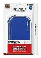 任天堂公式ライセンス製品 コンパクトポーチ for ニンテンドー3DS ディープブルー
