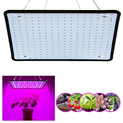 Lámpara de Planta, Lámpara LED Cultivo de 4 Cabezales de Espectro Completo 360°Ajuste, Led Grow Light para Interior Jardinería Bonsai