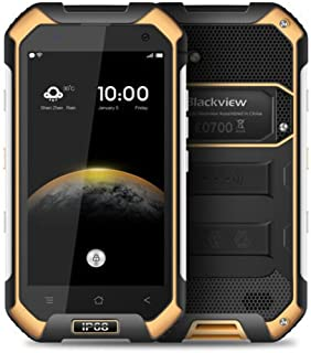"4.7"" Blackview BV6000 4G LTE Waterproof IP68 Android 6.0 3GB+32GB GPS phone (yellow)"