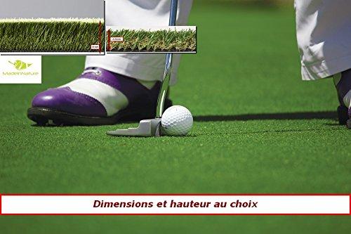 MadeInNature Gazon synthétique Haut de Gamme d'extérieur & d'intérieur | Dimensions aux Choix |...