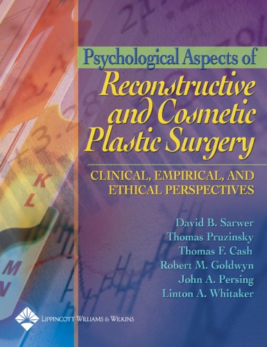 Psychological Aspects of Reconstructive and Cosmetic Plastic Surgery: Clinical, Empirical and Ethical Perspectives