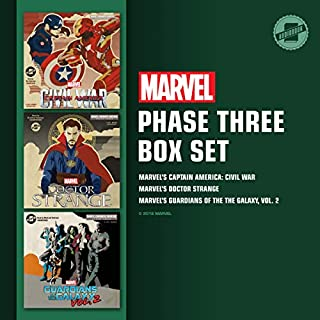 Marvel's Phase Three Box Set     Marvel's Captain America: Civil War; Marvel's Doctor Strange; Marvel's Guardians of the Galaxy, Vol. 2              By:                                                                                                                                 Marvel Press                               Narrated by:                                                                                                                                 Tom Taylorson,                                                                                        Bradford Hastings,                                                                                        MacLeod Andrews                      Length: 9 hrs and 1 min     1 rating     Overall 5.0