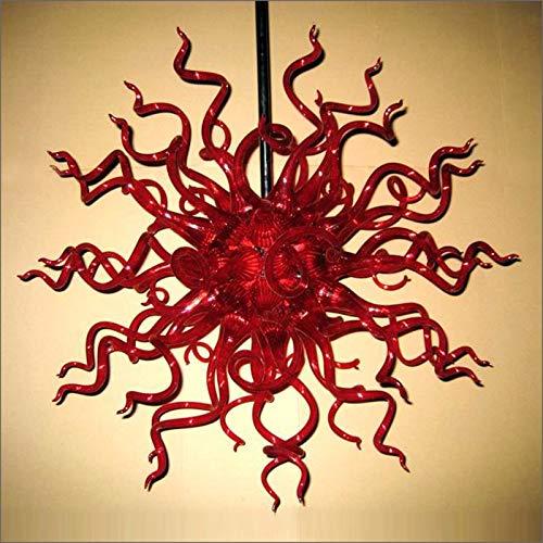 SHIJING kunst decoratieve designer glasplaat Big Sale Chihuly stijl kroonluchter