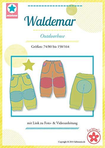Farbenmix Waldemar Schnittmuster (Papierschnittmuster für die Größen 74/80-158/164) Outdoorhose