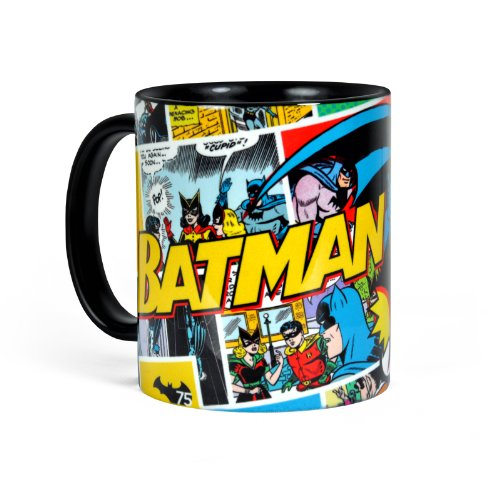 Batman Tasse Retro Comic Style 320ml DC Comics Elbenwald Keramik
