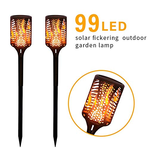 ZYLE Solar Lawn Light Flame Torch Light Outdoor Landscape Light